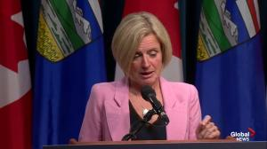 Notley says following the current regulatory path for Trans Mountain will lead to too much delay
